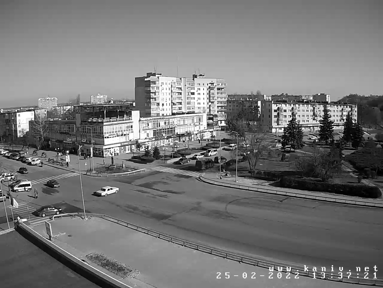 Веб-камера в центрі Канева